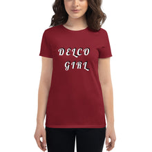 Load image into Gallery viewer, DELCO GIRL Women's short sleeve t-shirt