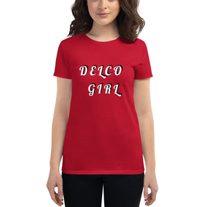 DELCO GIRL Women's short sleeve t-shirt