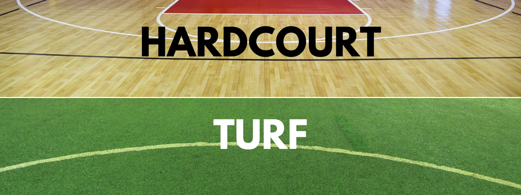 Turf VS Hardcourt