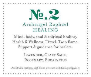 Soulscented-Apothecary, Day Spa, Salon, Perfumery & College Archangel Collection Healing Range by Archangel Raphael
