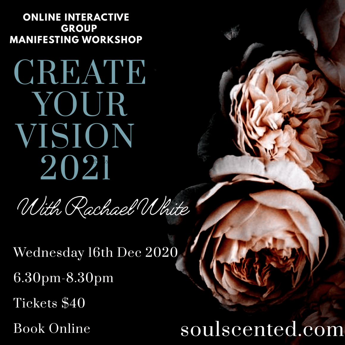 Soulscented-Apothecary, Day Spa, Salon, Perfumery & College Events Create your Vision 2021