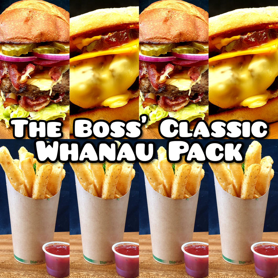 THE BOSS' CLASSIC WHANAU PACK