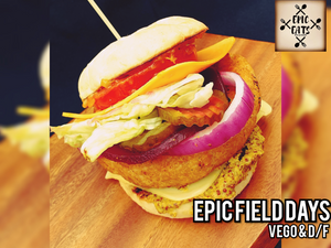 EPIC FIELD DAYS (VEGETARIAN/DAIRY FREE)