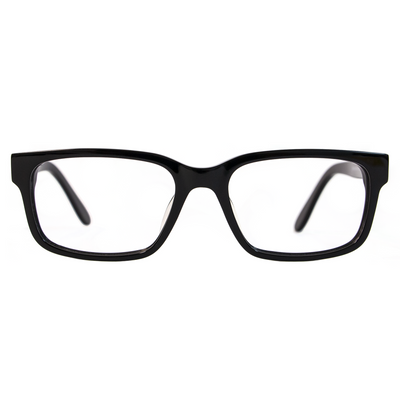 Black Eyeglasses (O-1091) by Mr Black - Raylite Optical Store