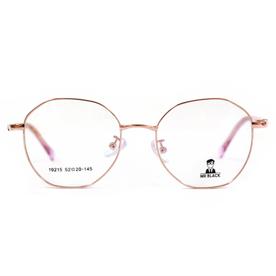 Geometric Round Eyeglasses (19215) by Mr Black - Raylite Optical Store