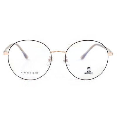 Sleek Round Eyeglasses (5185) by Mr Black - Raylite Optical Store