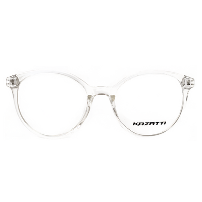 Round Eyeglasses Clear (TR8543) by KAZATTI - Raylite Optical Store
