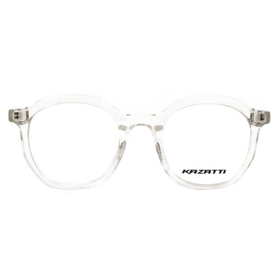 Oblique Eyeglasses Clear (8536) by KAZATTI - Raylite Optical Store