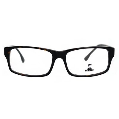 Rectangular Eyeglasses (0-1077) by Mr Black - Raylite Optical Store