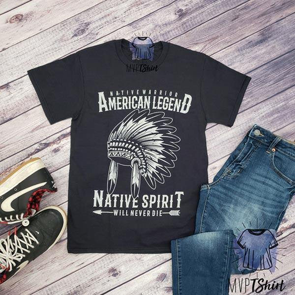 American Native Spirit Headdress shirt - mvptshirt