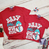 Baby It's Cold Outside Snowman - mvptshirt