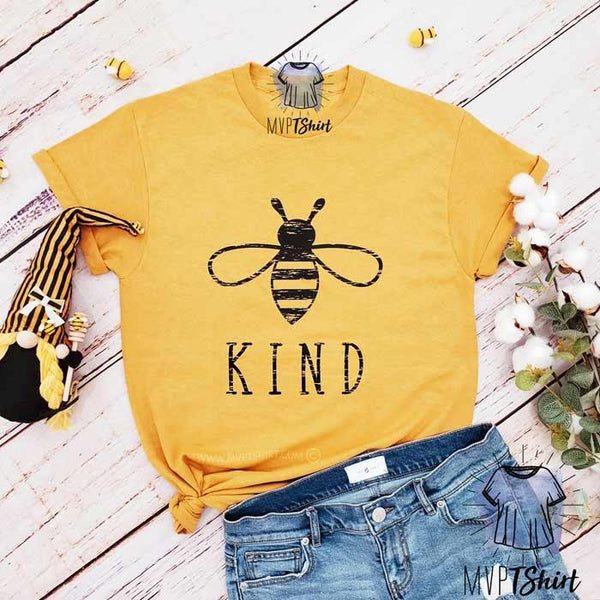 Bee Kind Shirt Ginger - mvptshirt