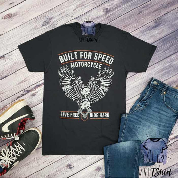 Built for Speed Live Free Tee - mvptshirt