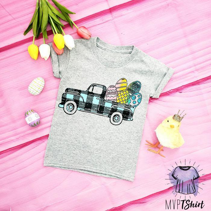 Kids Easter Truck Shirt - mvptshirt
