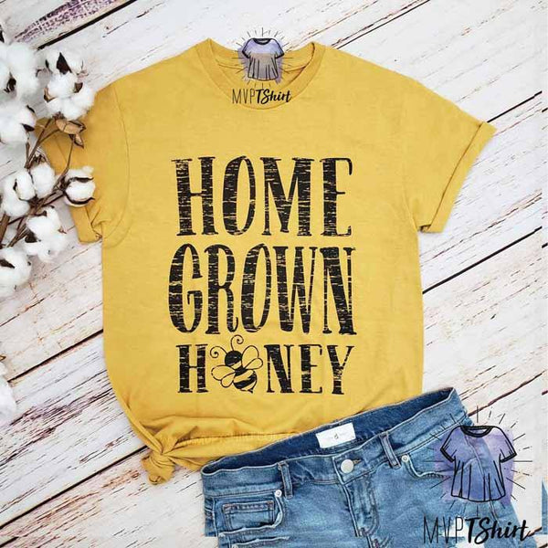 Home Grown Honey Tee - mvptshirt