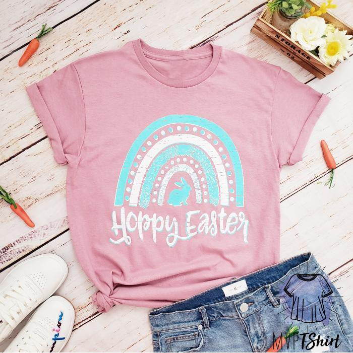 Hoppy Easter Shirt - mvptshirt