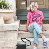 Can't See The Haters Over My Lashes Tee - mvptshirt