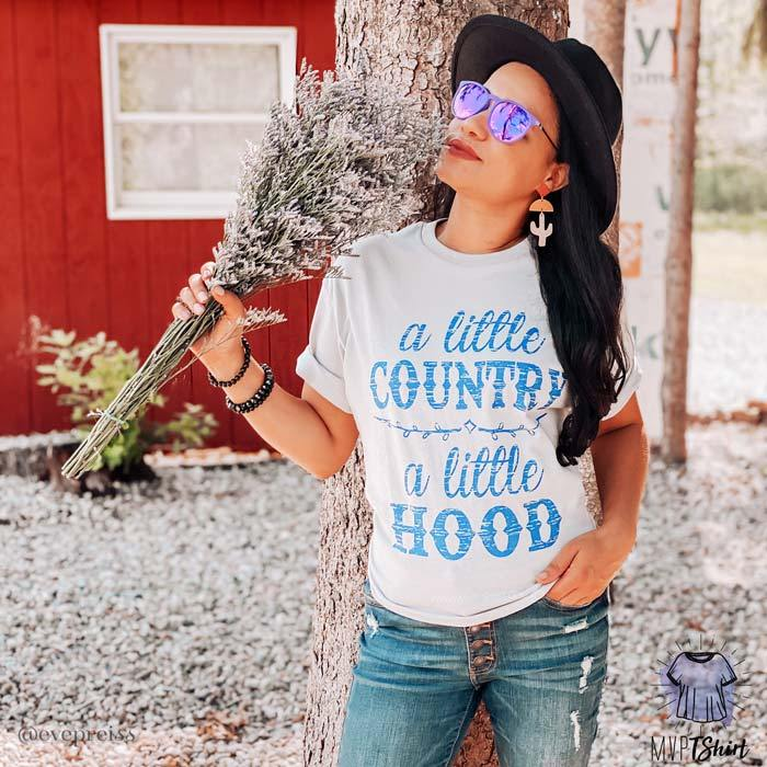 A Little Country A Little Hood Shirt