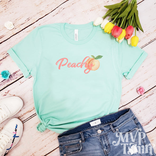 Just Peachy Shirt - Mvptshirt
