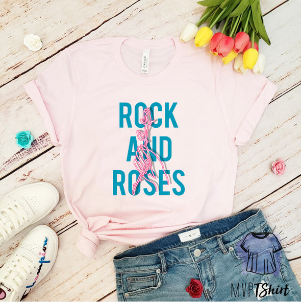 Rock and Rose T-Shirt - Mvptshirt