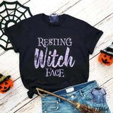 Resting Witch Face Halloween Shirt - mvptshirt