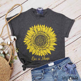 Sunflower Rise & Shine Graphic Shirt - mvptshirt
