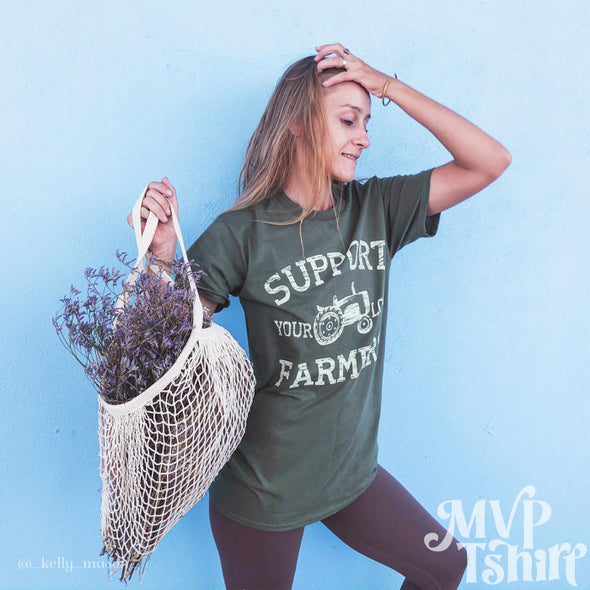 Support your Local Farmer Shirt - Mvptshirt