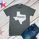 Texas Lone Star State Map Shirt - mvptshirt