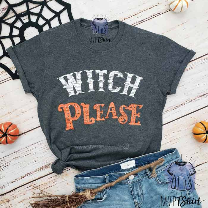 Witch Halloween Shirt for Women - mvptshirt