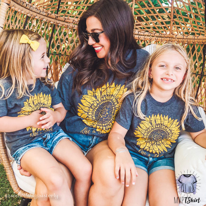 Sunflower Rise & Shine - mvptshirt