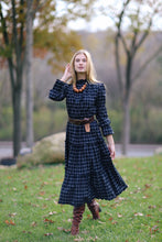 Load image into Gallery viewer, Alden Dress in Windowpane Check