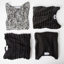 Load image into Gallery viewer, Chloe Crop Top in Sunwell Lace Black - CCH Collection