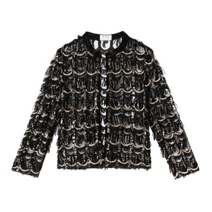 Kenan Jacket in Sequin Eyelash - CCH Collection