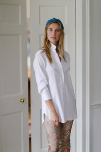 Preppy Shirt in Preppy Stripe White/White - CCH Collection