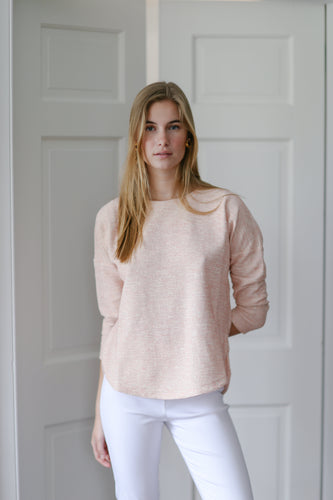 Richard Top in Blush Tweed - CCH Collection