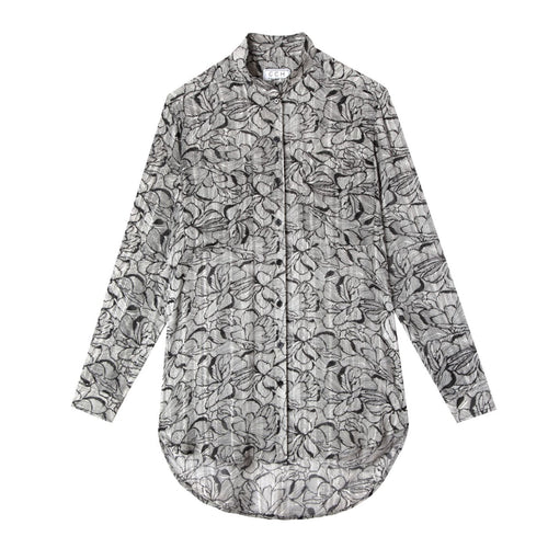Stand Up Shirt in Garden Print