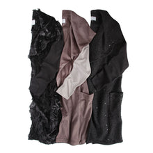 Load image into Gallery viewer, Vest with Sleeves in Velour Shag