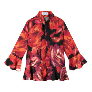 Watson Blouse in Abstract Floral