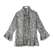 Load image into Gallery viewer, Watson Blouse in Garden Print