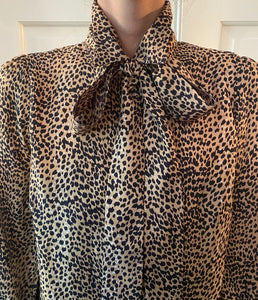 Emerson Fry Frankie Blouse in Little Cheetah