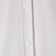 Load image into Gallery viewer, Bow Blouse in Preppy Stripe White/White