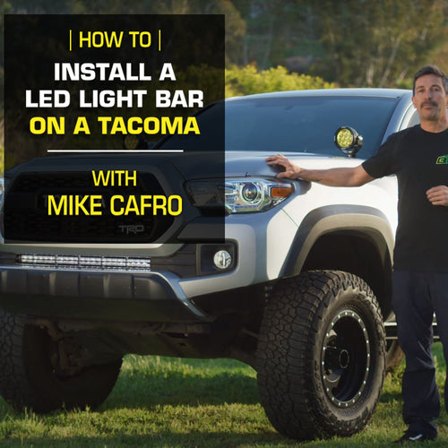 How To Install a Light Bar on Your Toyota Tacoma
