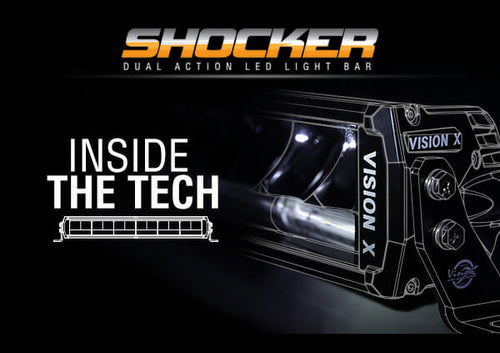 The Tech Behind the All New Shocker Dual Action LED Light Bar