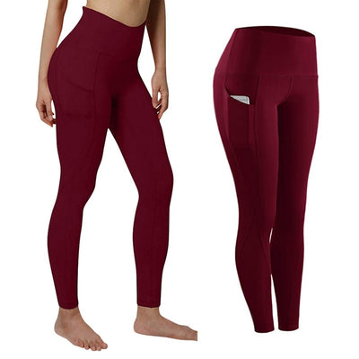 Align High Waist Stretch Tummy Booty Slimming Butt Lift Leggings with Pockets