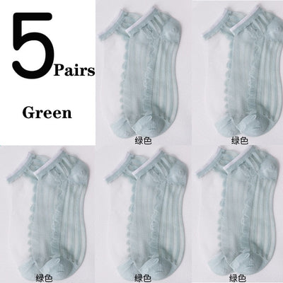 Mother's Day SpecialNOW 50% OFFTranslucent Daisy Socks