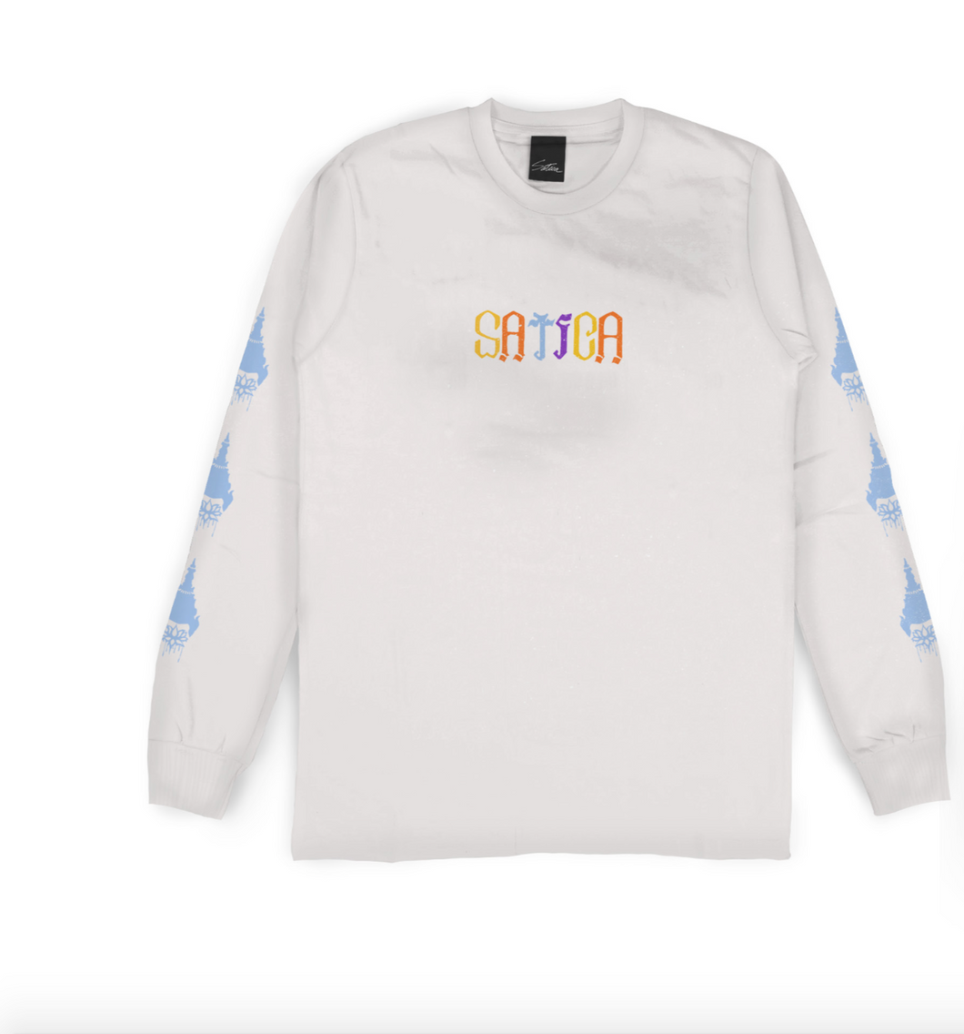 Satica Long Sleeve - WHITE