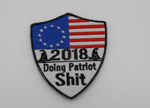 USA Doing Patriot Shit Patch