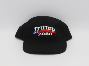 Trump 2020 with flag hat