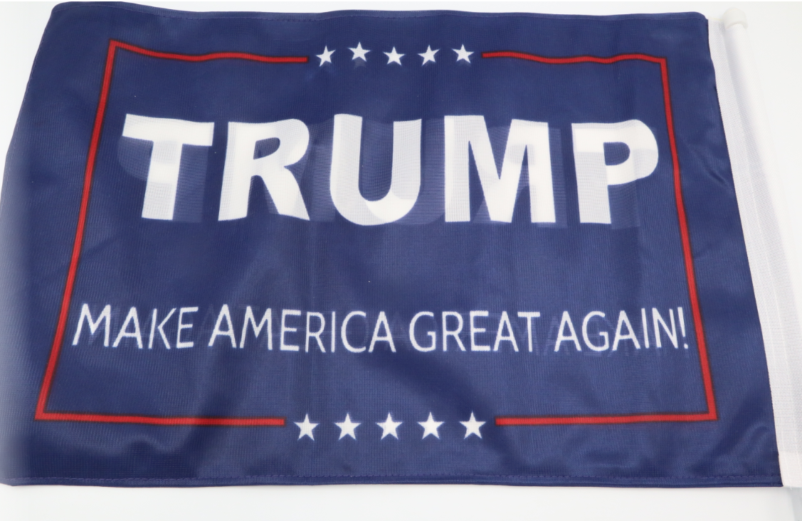 Trump Car Window Flags