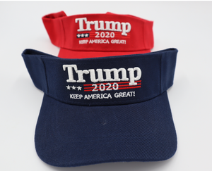 "Trump 2020 ""Keep America Great"" Visor"